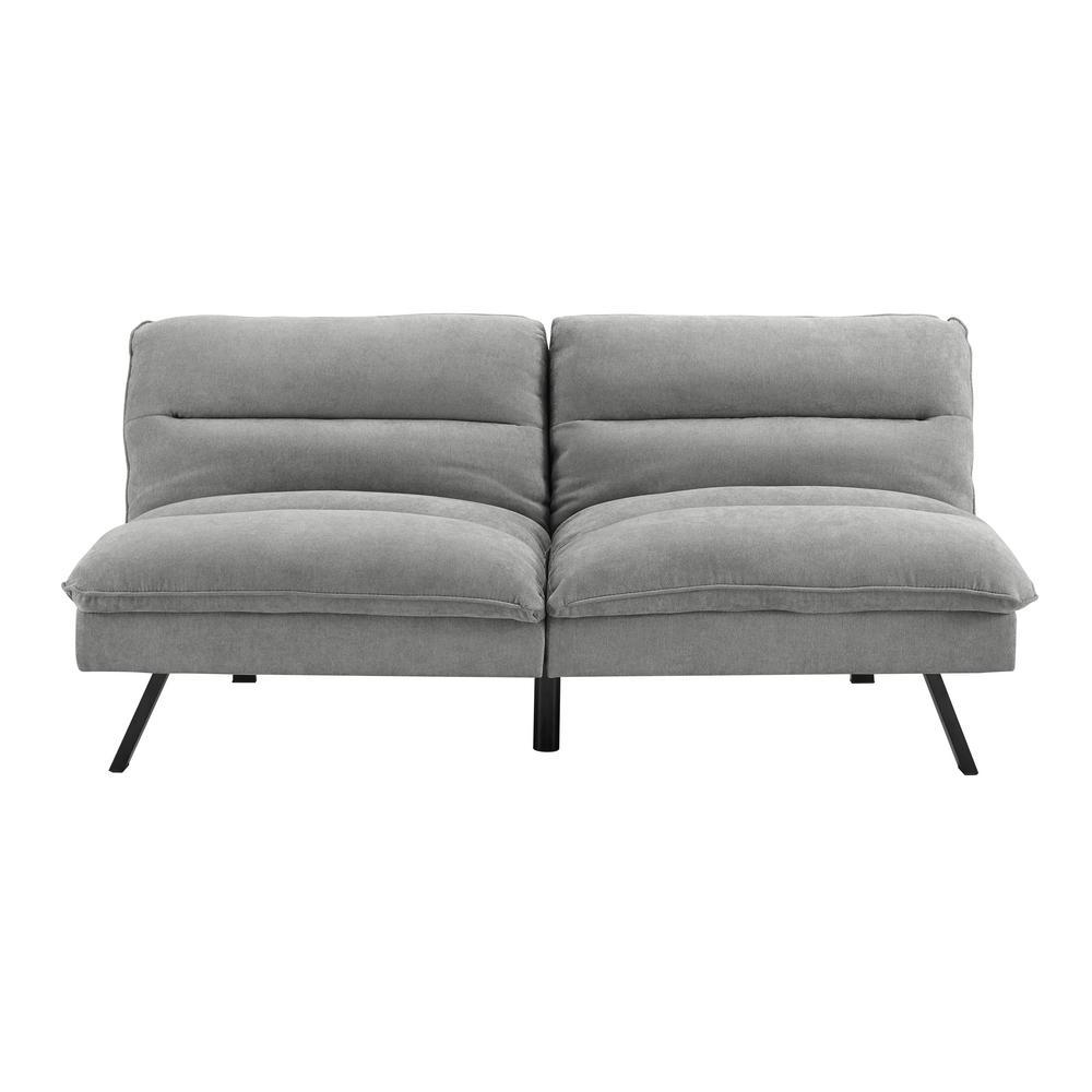Simmons Manhattan Grey Convertible Sofa