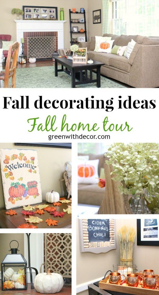 Fall Home Tour Fall Decorating Ideas Green With Decor Funky Home Decor Fall Decor Decor
