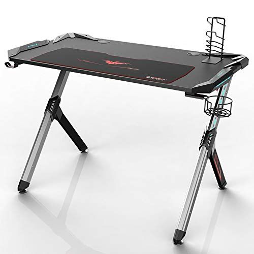 Fantastic Eureka Ergonomic R1 S Gaming Desk Gaming Computer Desk Gmtry Best Dining Table And Chair Ideas Images Gmtryco