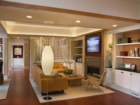 living room stair behind screen house plan 454 12 by sarah susanka rh pinterest com