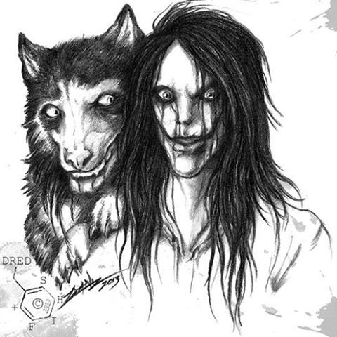 Jeff the killer and Smile dog