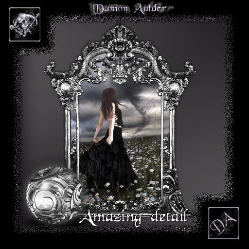 NuTec: The Storm Gothic Heirloom Framed Art