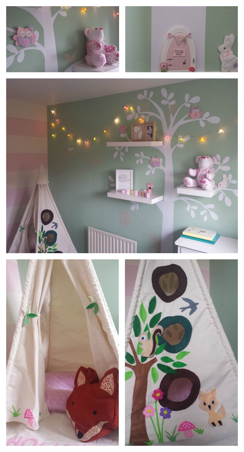 This Is My Little Girls Woodland Forest Themed Nursery
