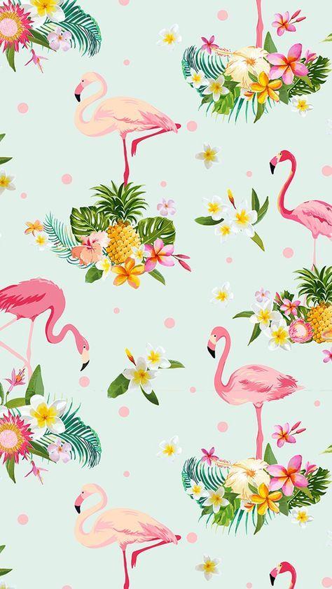 27+ Flamingo and pineapple wallpaper ideas