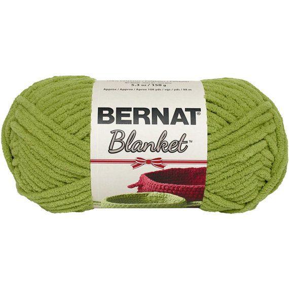Bernat Blanket Holiday Yarn in Green 150 Gram Skein New Holiday ...