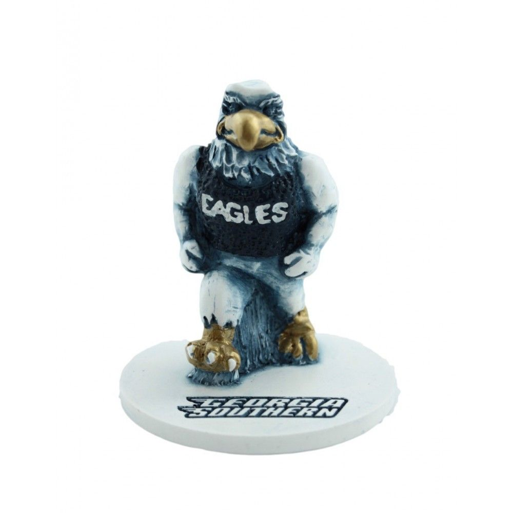 "Ga Southern ""Strutting Eagle"" Marble Desk Top Figurine http://hail-southern.com/Georgia-Southern-Eagles-Home-Office/Ga-Southern-Strutting-Eagle-Marble-Desk-Top-Figurine"