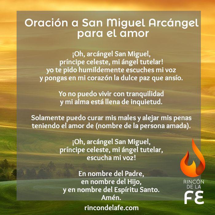 Consigue el amor con la oración a San Miguel Arcángel para el amor ...