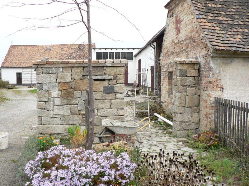 mauer granit naturstein selber machen 06 pimp my bauernhof - wasserfall selber bauen