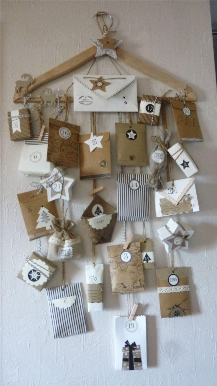 Best 12 DIY Adventskalender Rentiere, Elche – SkillOfKing.Com #kerstideeën