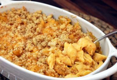 Nacho mac n cheese
