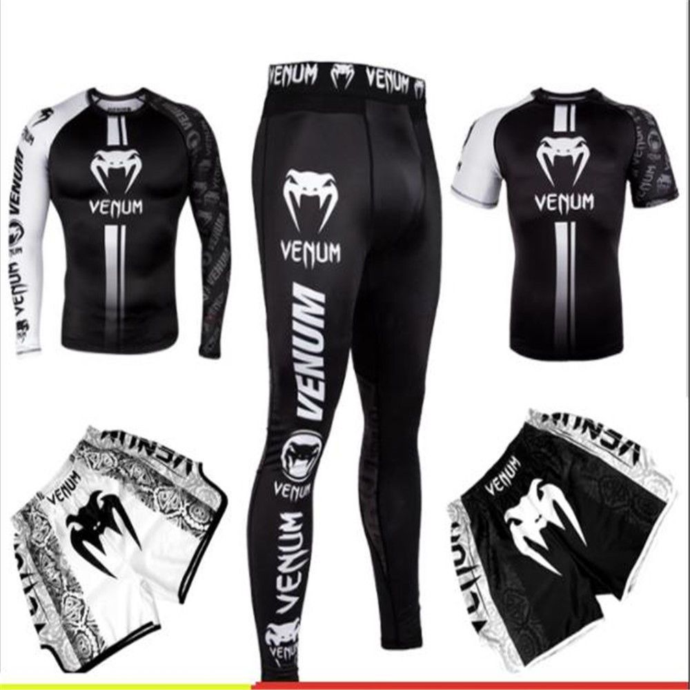 93f0df90c65683 Venum T-shirt tights MMA fighting abrasion Combat compression fitness  clothes. #fashion #beauty #clothing #men #models #girls