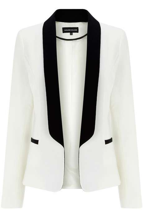 74483dcc659 Female Tuxedo Jackets | Flashion | White tuxedo jacket, Womens ...