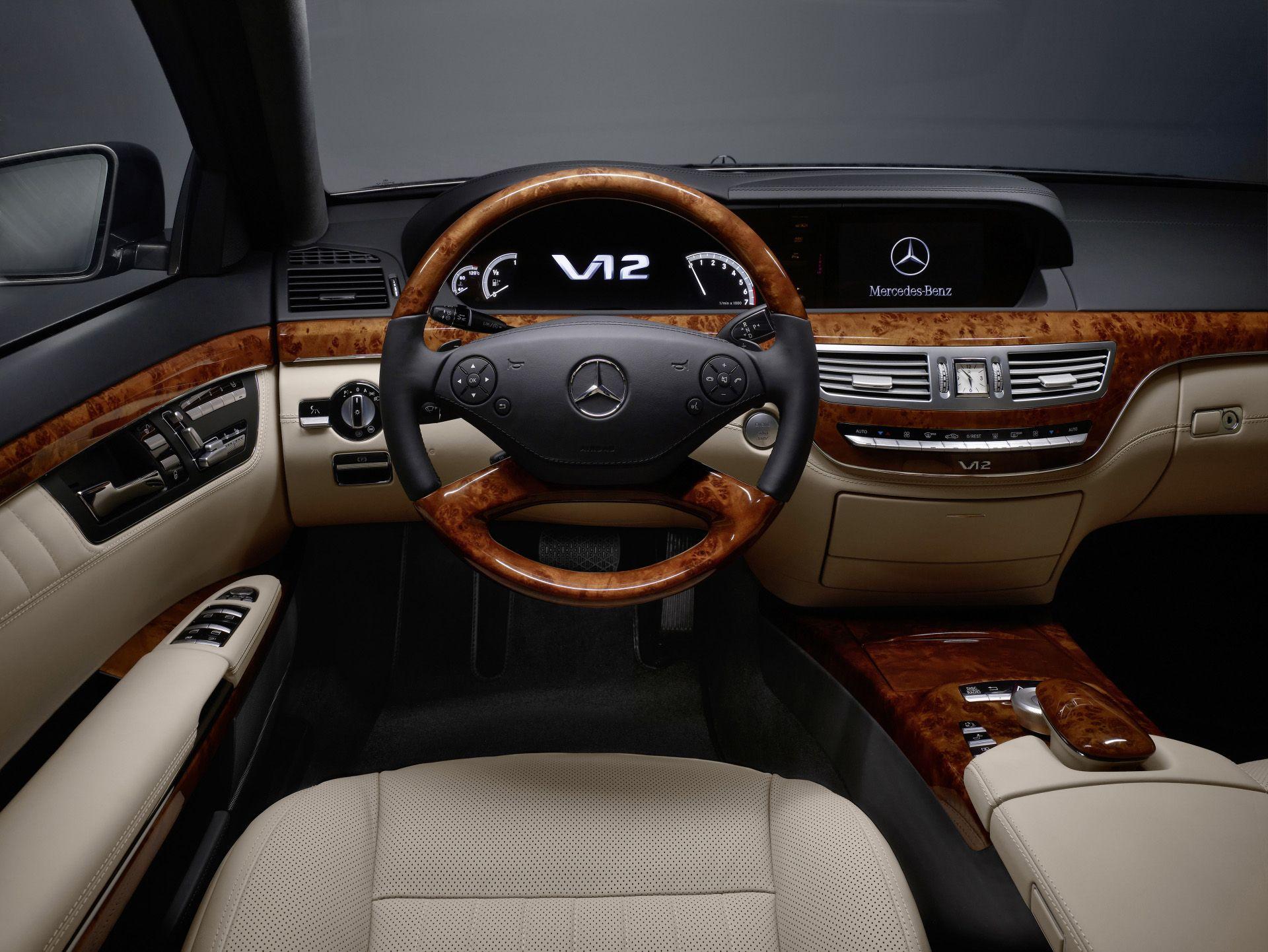 Mercedes Benz V12 S Class