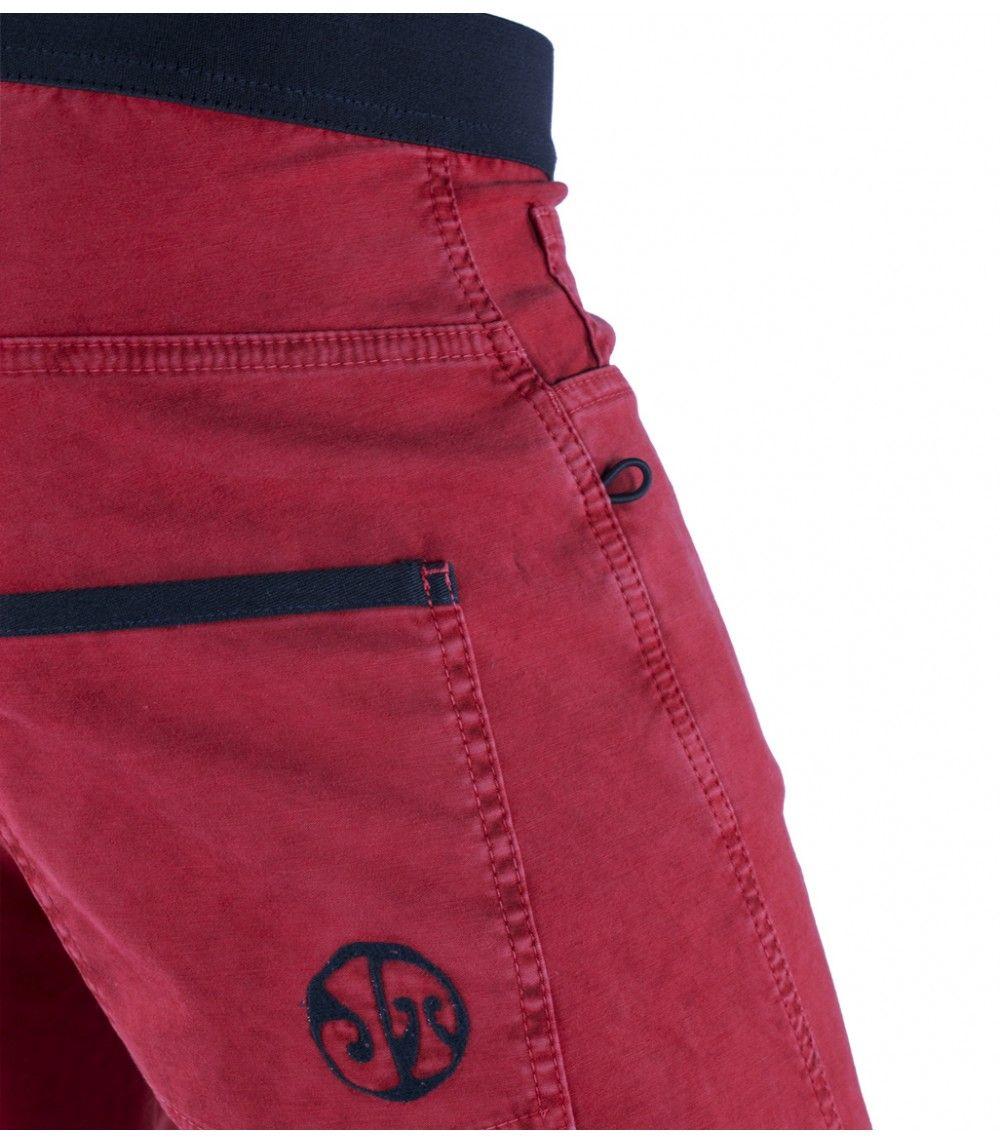 Pantalon Escalada Turia Br Rojo Hombre Estilos De Pantalones Pantalones Ropa