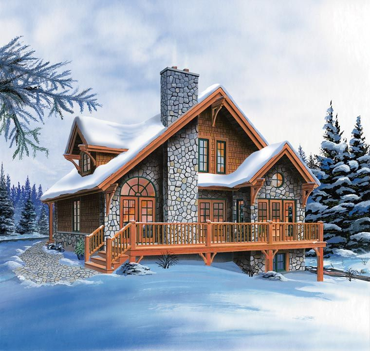 cool house plans offers a unique variety of professionally designed home plans with floor plans by accredited home designers styles include country house - Mountain Cabin Plans