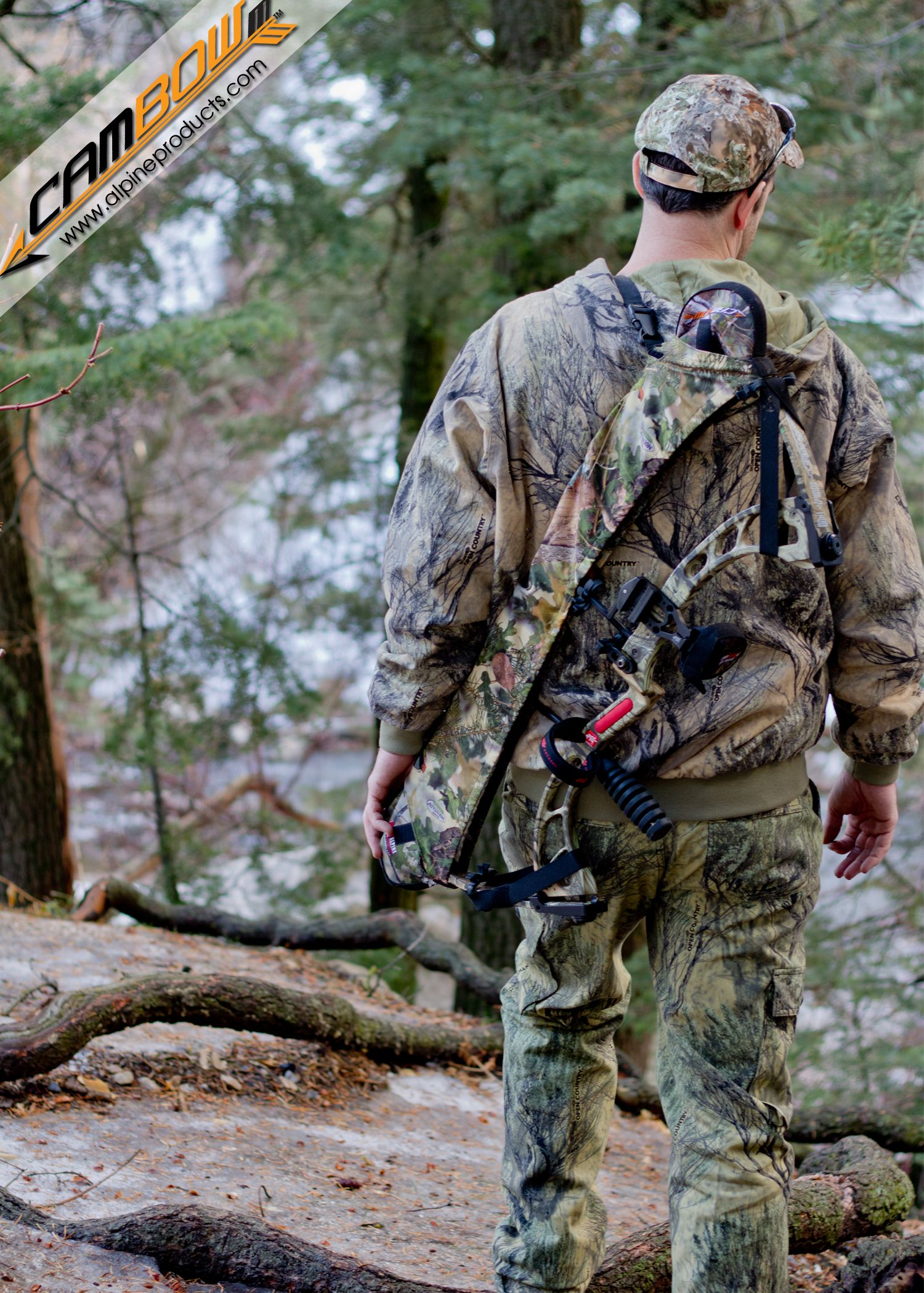 Heavy Hauler Outdoor Quik Detach Bow Sling Compound Bow Shoulder Realtree Camo