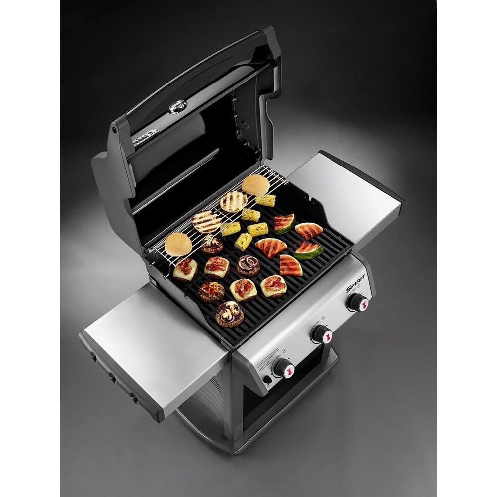 Weber Spirit E 320 3 Burner Propane Gas Grill In Black 46710001 Gas Grill Reviews Propane Gas Grill Gas Grill