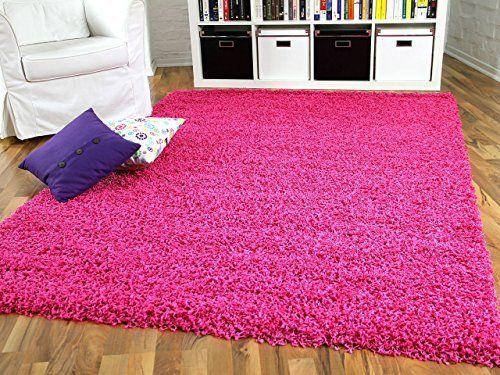 Hochflor Langflor Shaggy Teppich Aloha Pink Rosa Flieder - Sofort - teppiche für die küche