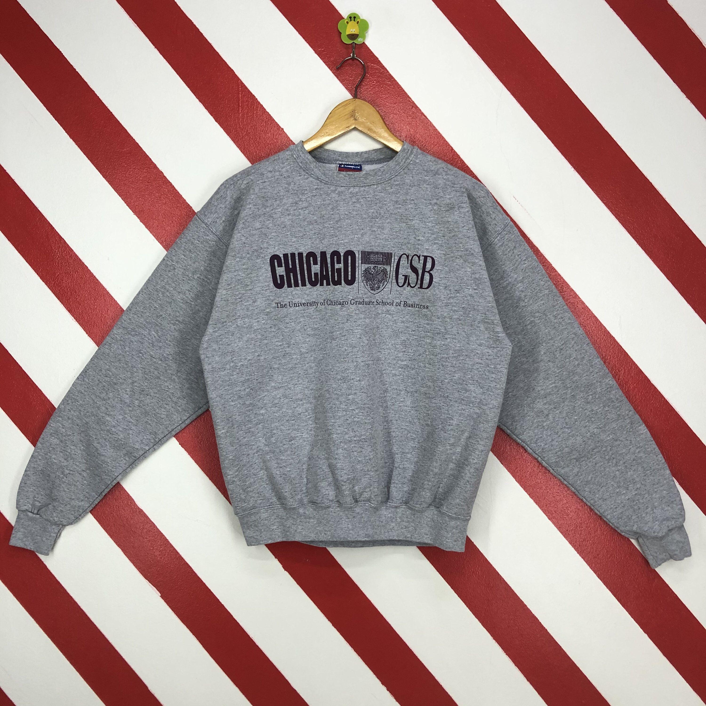 Vintage University Chicago Sweatshirt Chicago Crewneck Chicago Etsy Sweatshirts Chicago Print Print Logo [ 3000 x 3000 Pixel ]