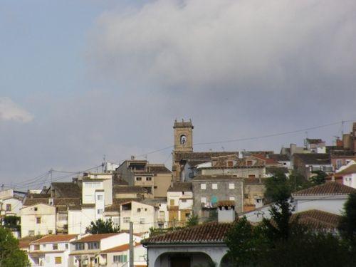 Panorámica-Agrés (Alicante)