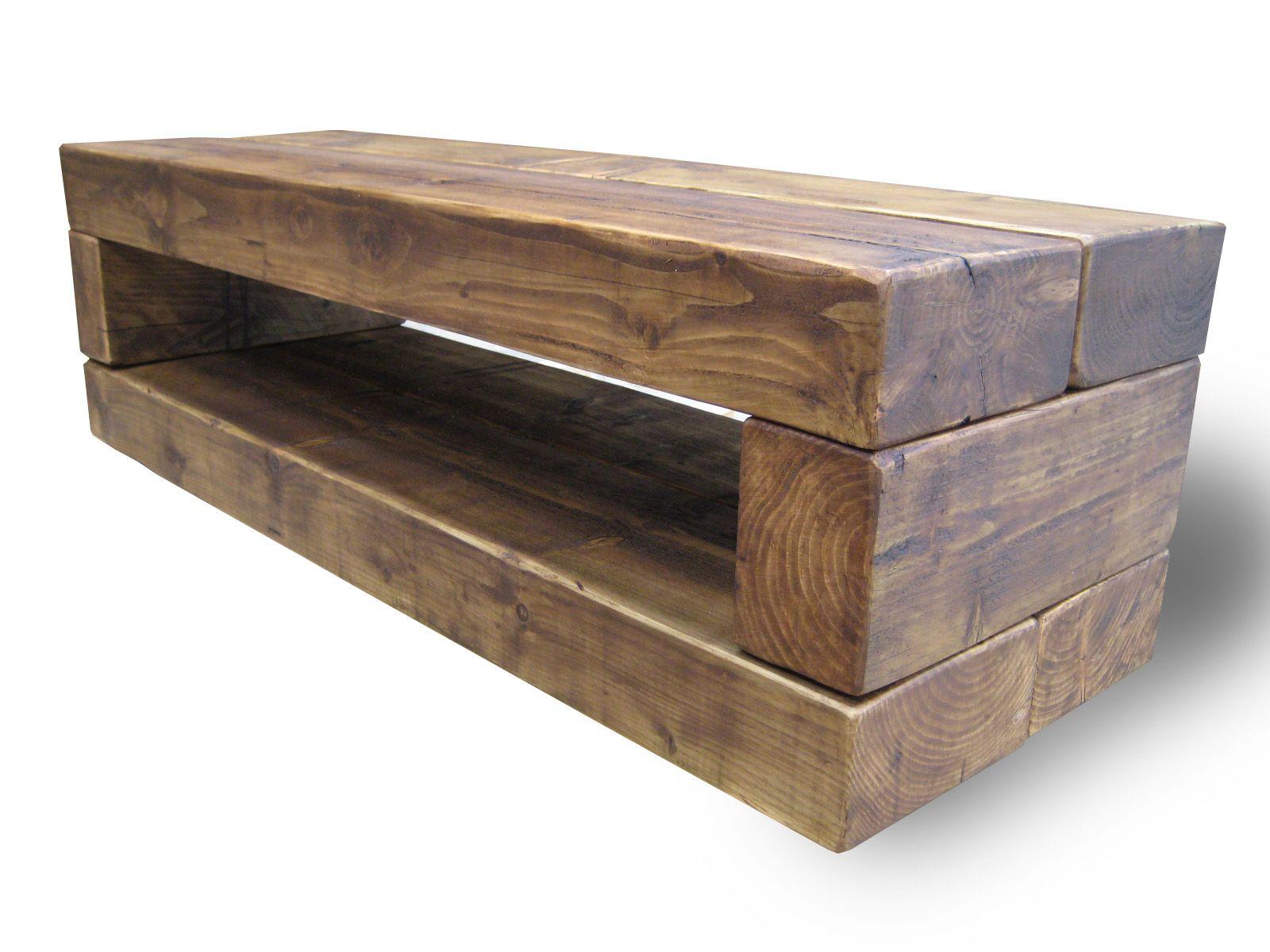 Hallway storage stand  Chunky TV Stand   Hallway  Pinterest  Wood company Tv stands