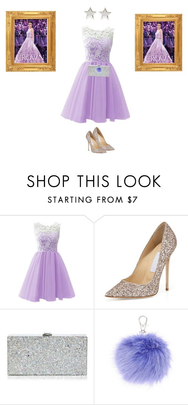 """""""The crown - Kiera Cass"""" by malufashion on Polyvore featuring moda, Jimmy Choo, Milly e Givenchy"""