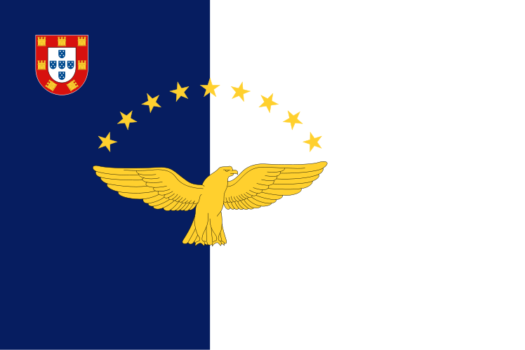 File Flag Of The Azores Svg Wikipedia The Free Encyclopedia Azores Flag Flag Of Europe