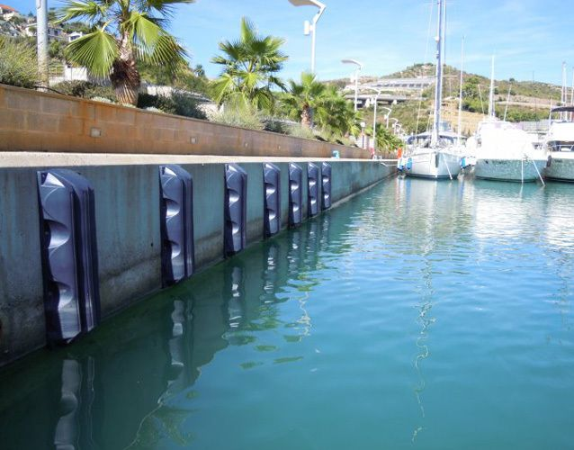 Fender Dock B90 Blue 950x120mm Dock Bumpers Boat Accessories Boat Marina