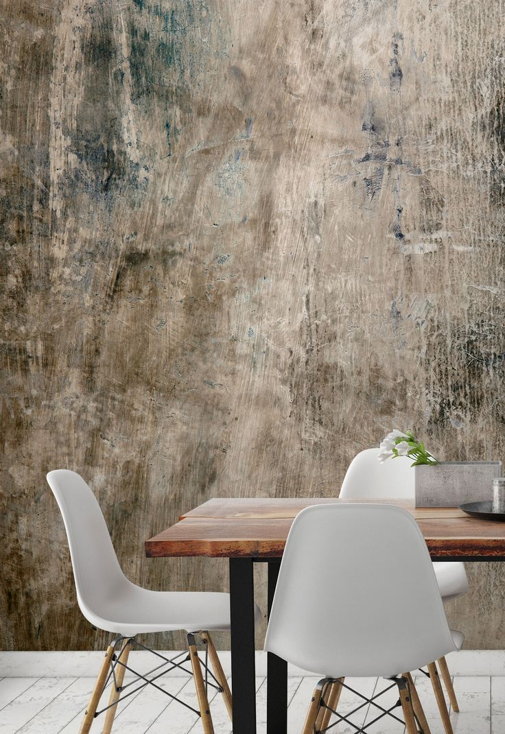 Get The Industrial Look With Our Concrete Wallpaper Murals All Made To Measure To Your Specificati In 2020 Concrete Wallpaper Wallpaper Living Room Textured Wallpaper