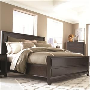 Modena Queen Panel Bed With Block Feet By Aspenhome At Old Brick