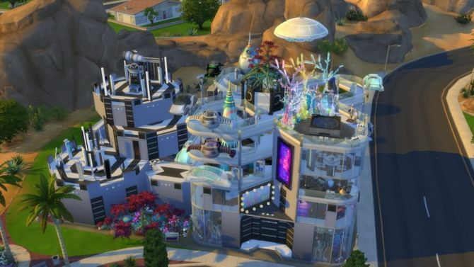 The Sixam Celestial Villa by coolspear1 at Mod The Sims via