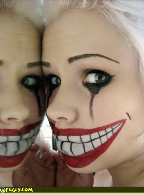 Scary Kids Clown Faces Random Pictures Halloween Make Halloween Make Up Halloween Costumes Makeup