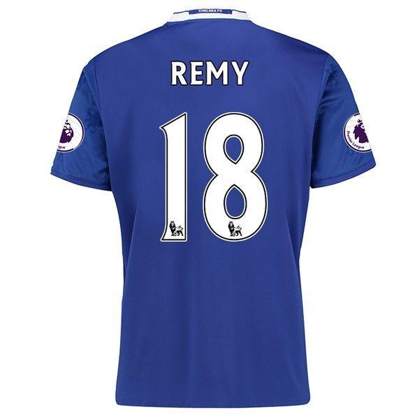 Chelsea 2016/17 Home Men Soccer Jersey REMY #18 | Premier League |  Pinterest | Premier League and Futbol