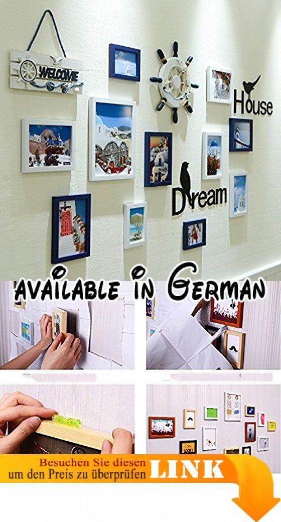 DENGJU Foto Wand Fotorahmen Schlafzimmer Wohnzimmer Handgefertigte