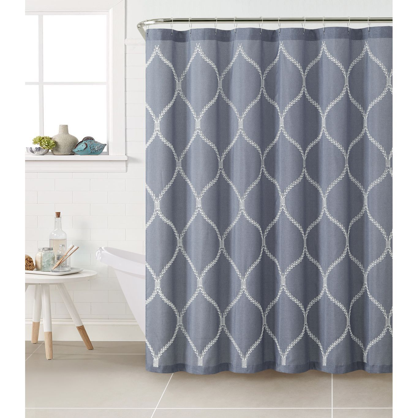 Kimberly Polyester Shower Curtain - Overstock Shopping - Great ...