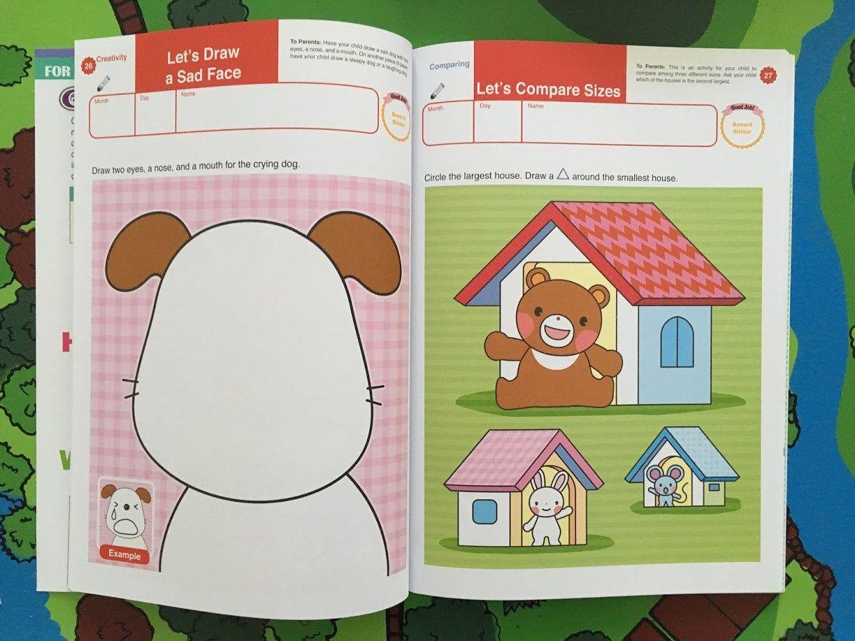 Gakken Workbooks Are Fun and Educational