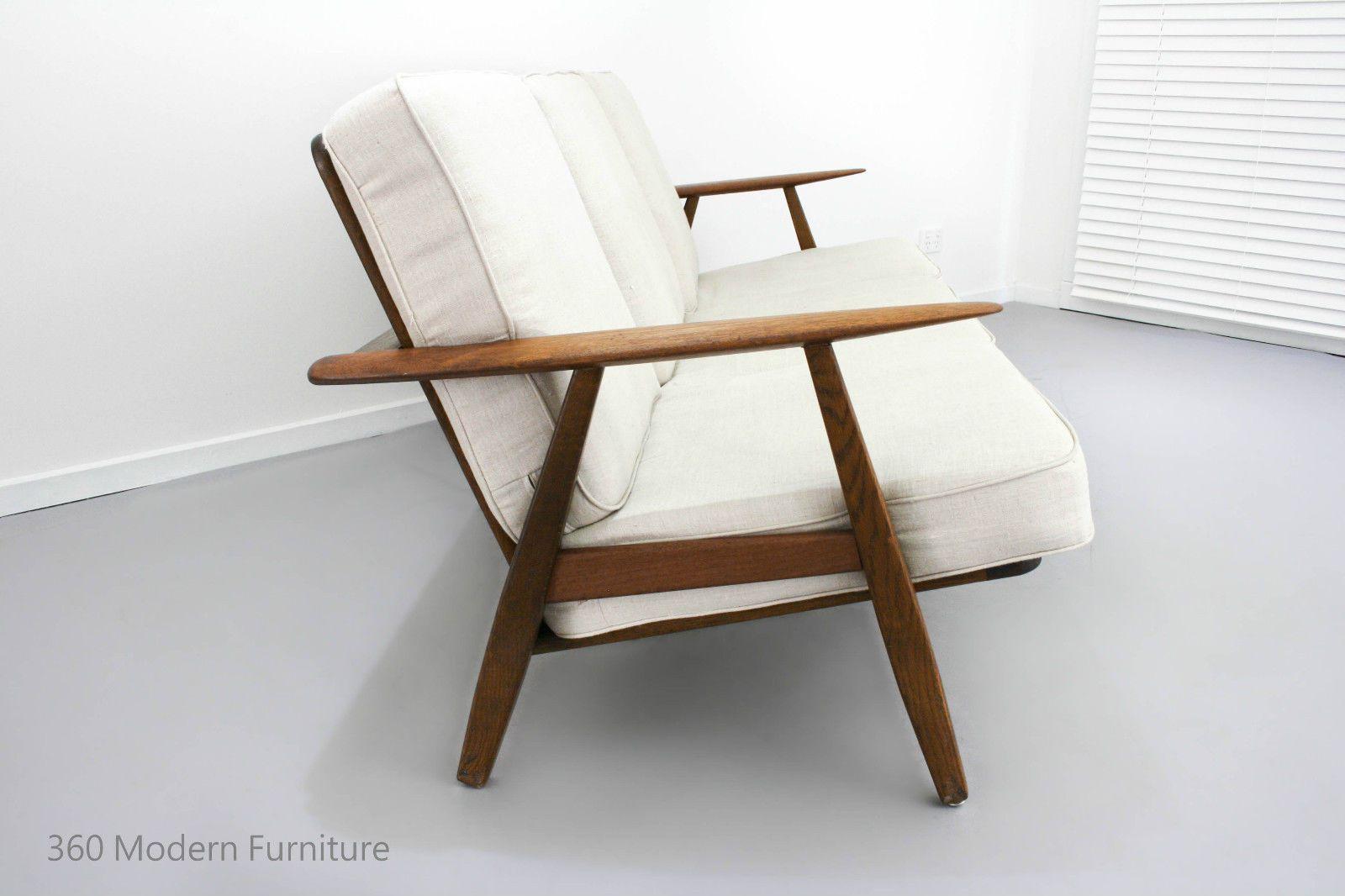 Best Mid Century Lounge Sofa 3 Seater Couch Retro Vintage Fler 400 x 300