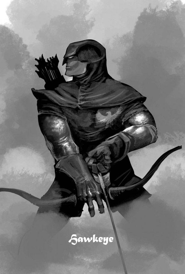Medieval3 medieval style avengers marvel avengers et geek art - Mechant avenger ...