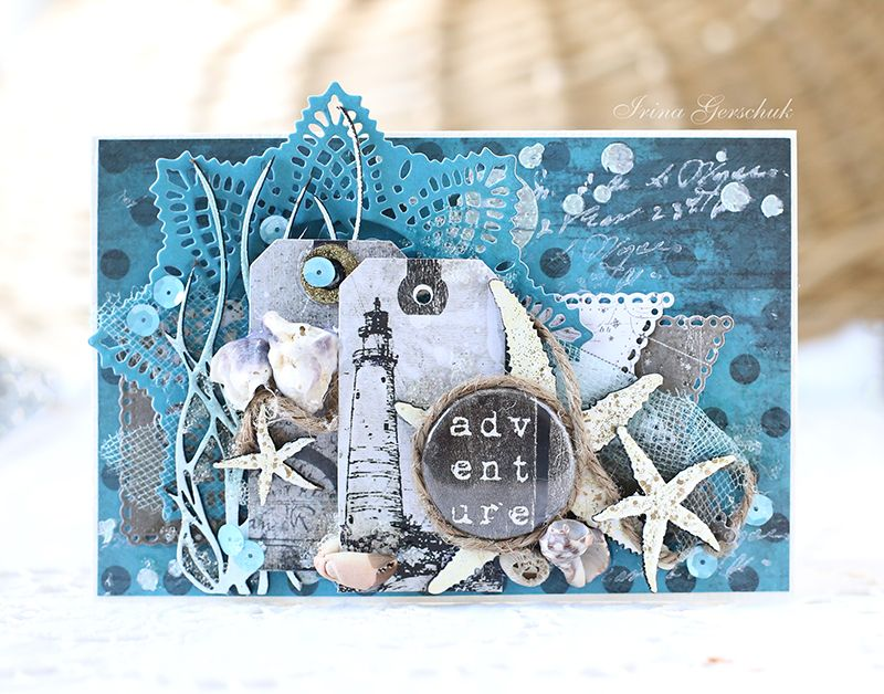 Картинки, морские открытки своими руками