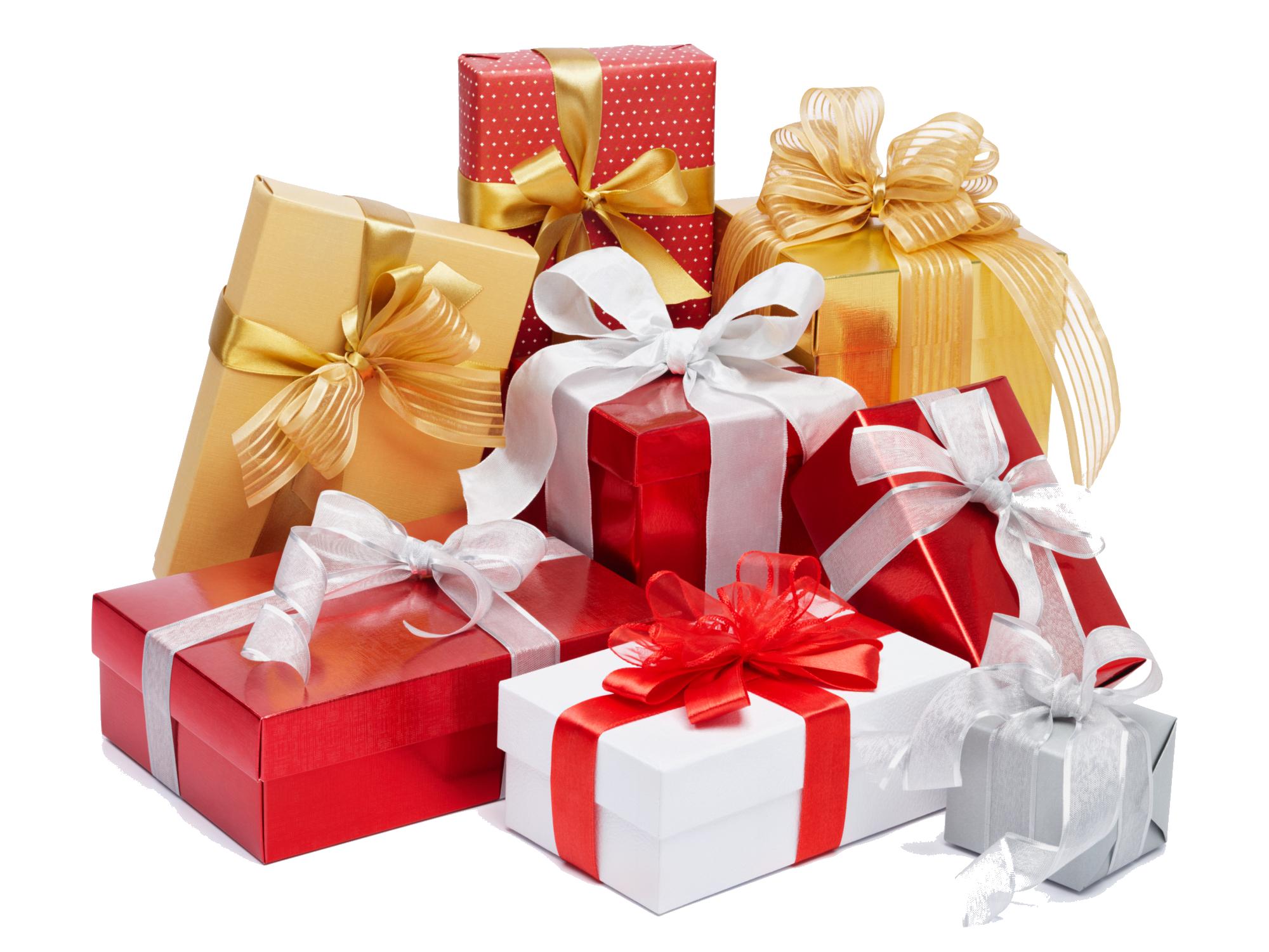 Christmas Gift Transparent PNG (con immagini) Regali di