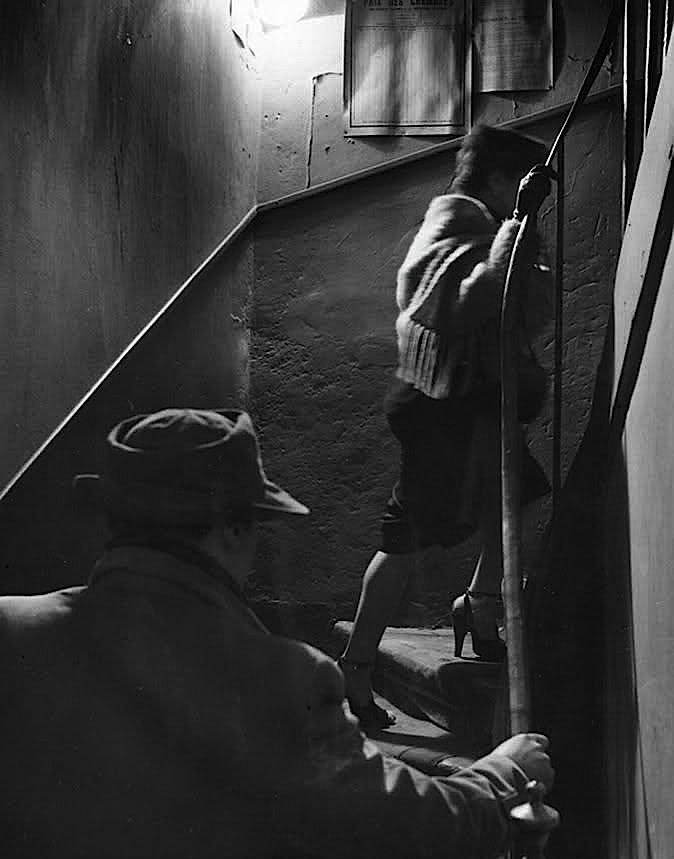 Robert Doisneau The Stairway, 1952