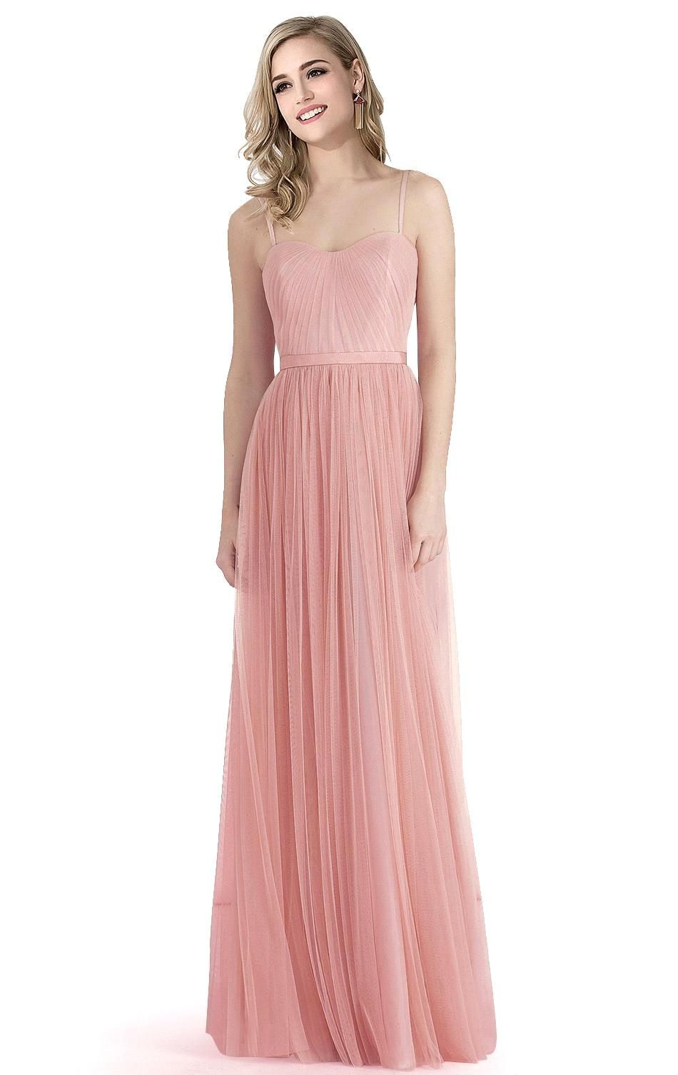 Elegant Sweetheart Ruffles Sash Bridesmaid Dress