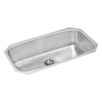 Wessan Kitchen Sink Wesp988 Stainless Steel Single Bowl Drop In 17 In X 29 In X 10 In Sink Undermount Stainless Steel Sink Single Bowl Kitchen Sink