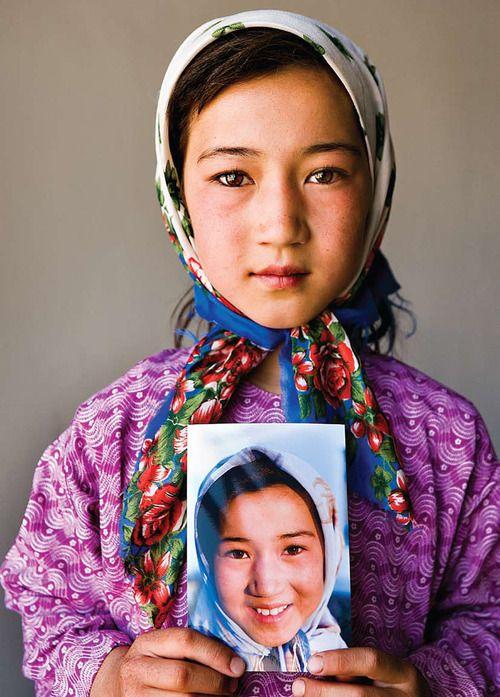 Portrait   Kids around the world, Hazara people, Beautiful