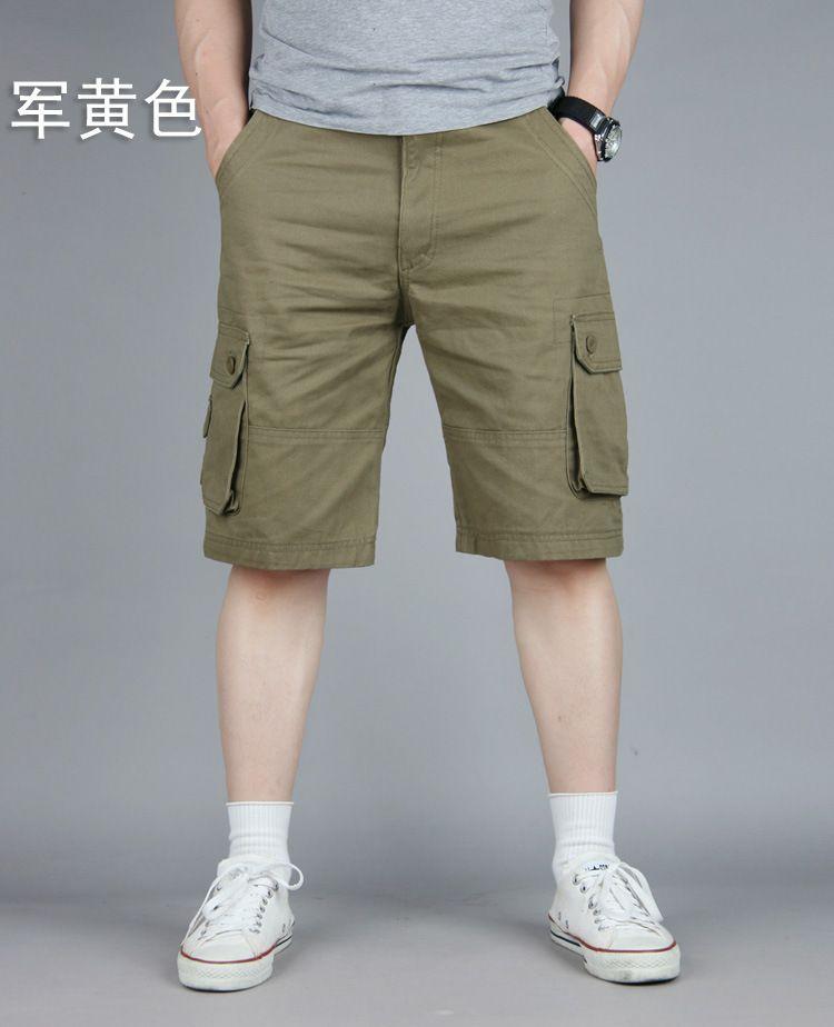 e5a8bb71fe 100% Cotton Cheap Durable Multi Pocket Army Bermuda Military Cargo Shorts  Men Plus Size 42 44 46 Khaki Black Brown Olive GreenUSD  32.59-37.59/piece100% ...
