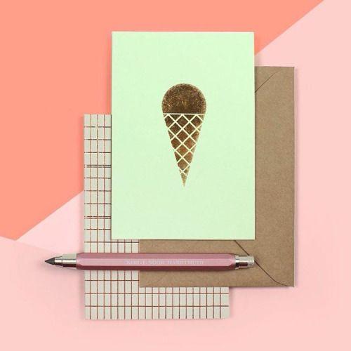 #eis #postkarte #notizbuch #gold #ola #druckbleistift #kohinoor #stationery…