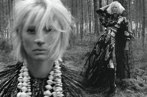 Tilda Swinton for AnOther Magazine A/W05 Photographed by Craig McDean, styled by Katy England