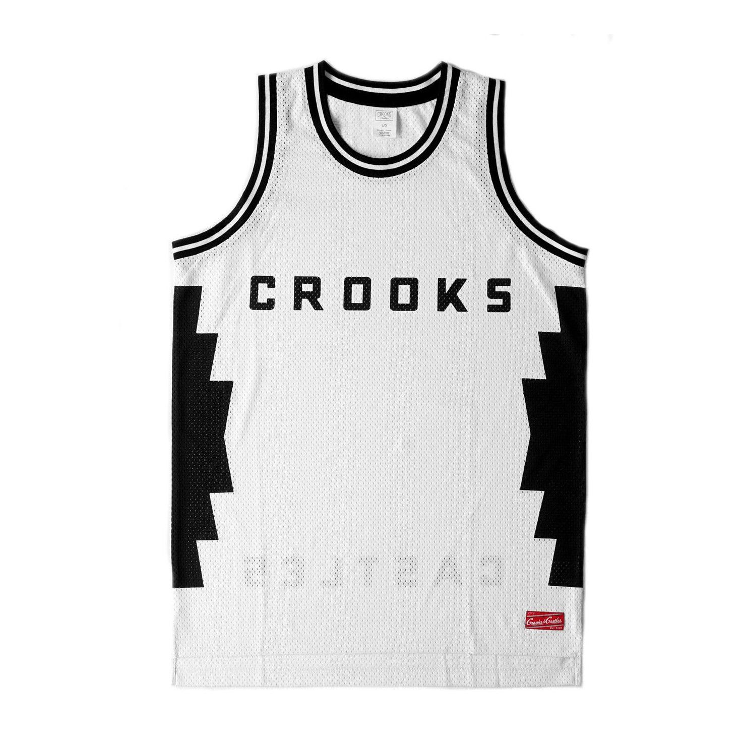 df2bd965e CROOKS AND CASTLES MEN'S TRIBAL BASKETBALL JERSEY - $55.00 CAD ...