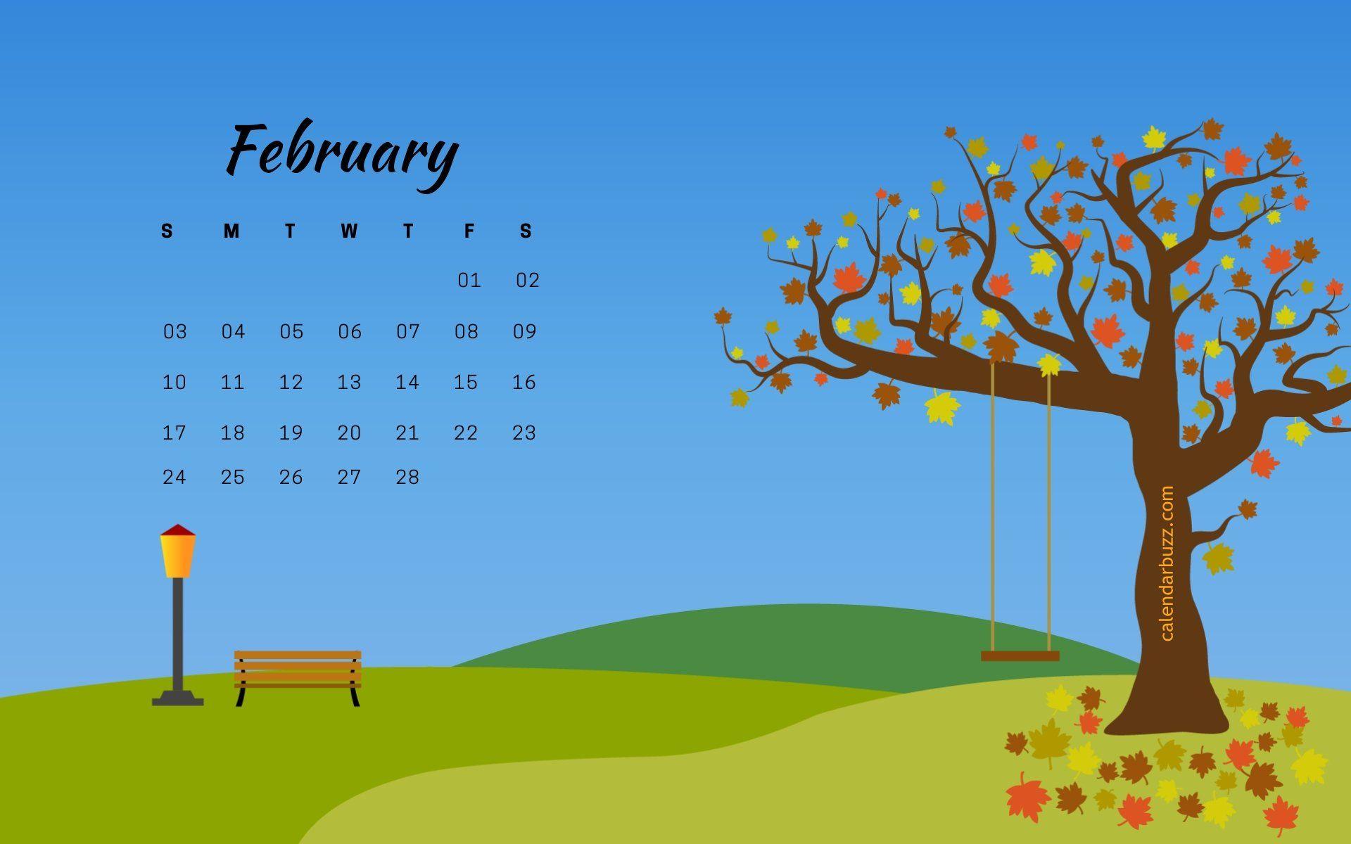 2019 February Calendar Buzz Wallpaper Calendars February 2019 Desktop Background Calendar #february #2019february