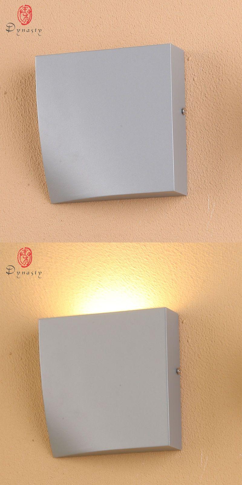 LED Wall Lamp Novelty Aluminum Modern Fixture Restaurant Pub Foyer ...